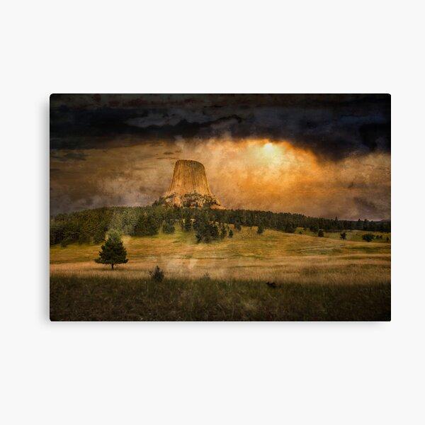 Devil's Tower Canvas Print