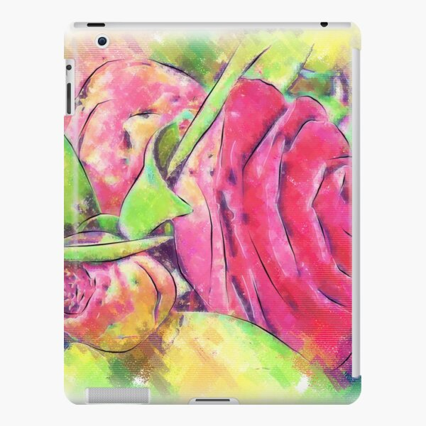 Camellia Bud And Bloom iPad Snap Case
