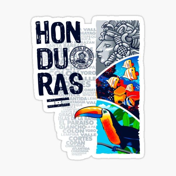 Honduras Turistica Pegatina