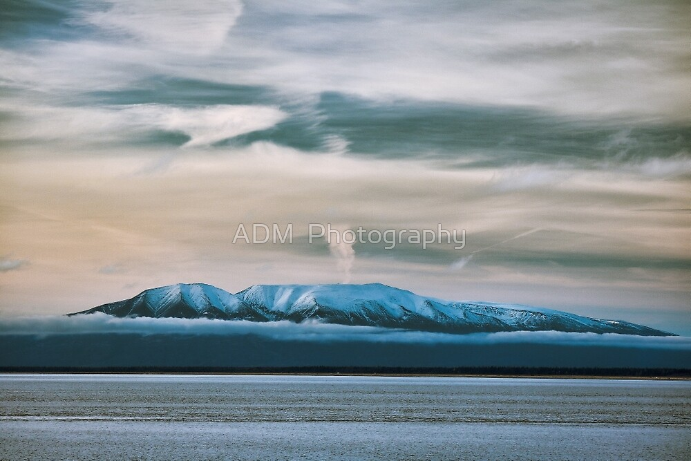 The Sleeping Lady-Anchorage, Alaska by Amber D Hathaway Photography