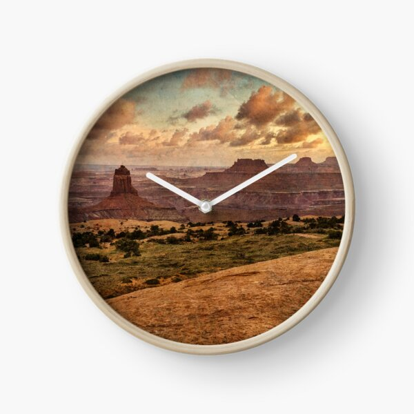 Wild Desert Clock
