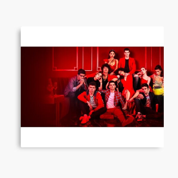 Elite Netflix Season 3 Cast Photo Canvas Print