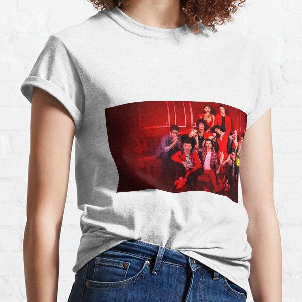 Élite Netflix Saison 3 Cast Photo T-shirt classique