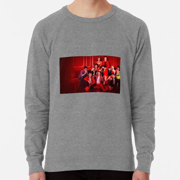Élite Netflix Saison 3 Cast Photo Sweatshirt léger