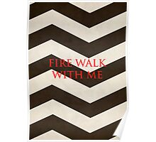 Twin Peaks: Fire Walk With Me Minimalist Poster Poster