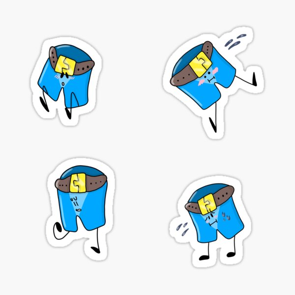 Pants Collection Sticker
