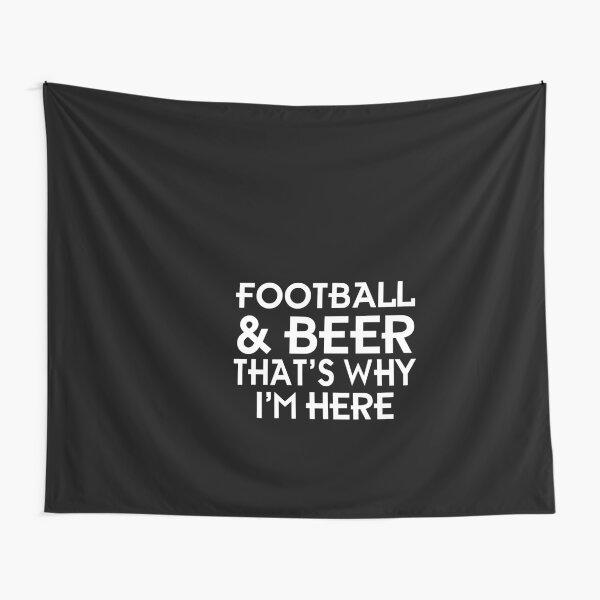 Football & beer Tapestry