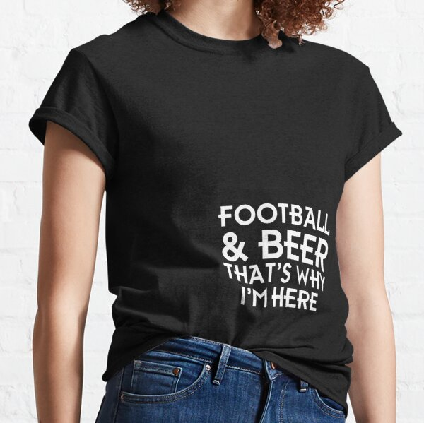 Football & beer Classic T-Shirt
