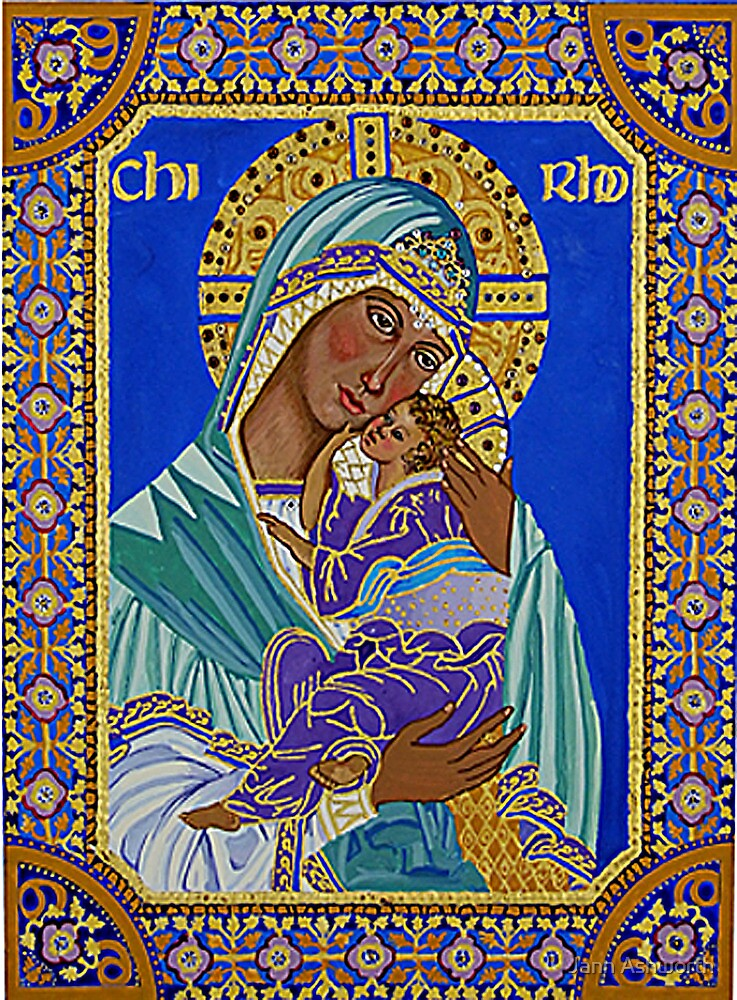Madonna and Child by Jann Ashworth