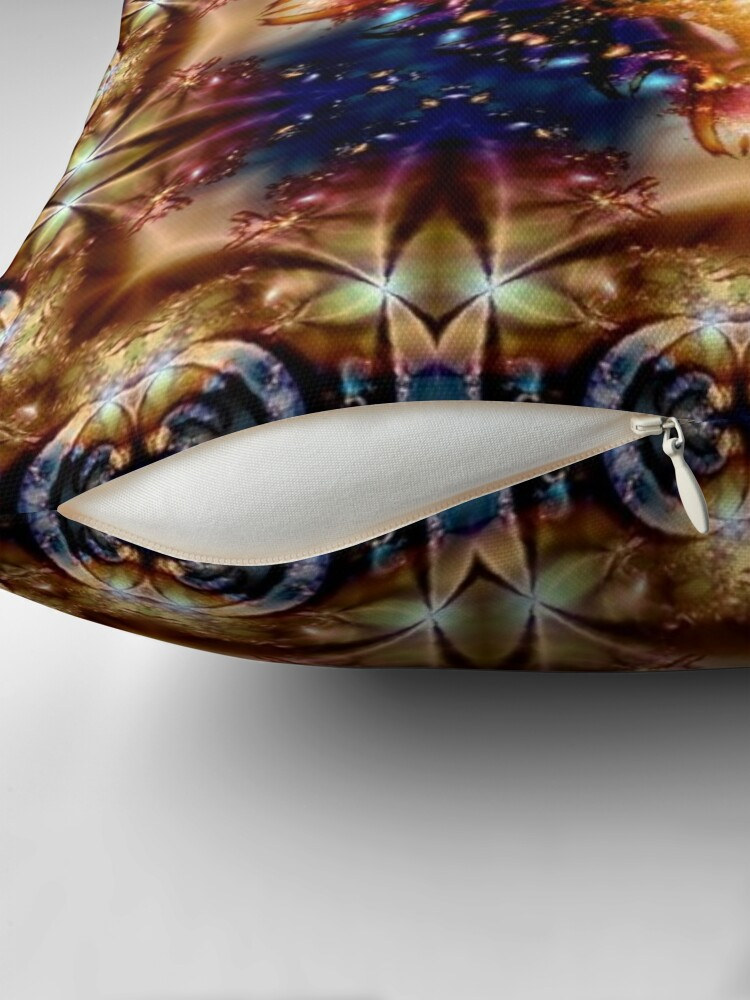 Alternate view of Krazy Kaleidoscope 1025 Throw Pillow