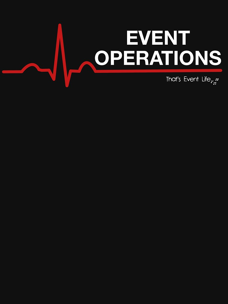 Event Medicine Operations ECG Style (White/Red) by ThatsEventLife