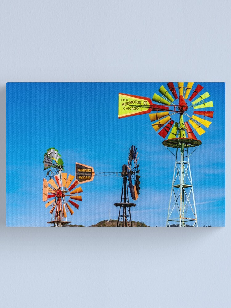 Alternate view of The Windmills of  my Mind Canvas Print