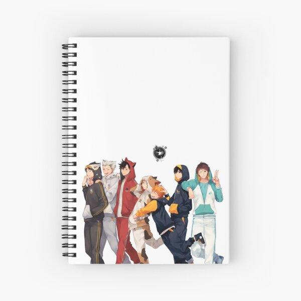 Anime: Haikyuu Spiral Notebook