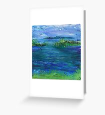 Inlet Greeting Card