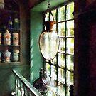 Glass Mortar and Pestle on Windowsill by Susan Savad
