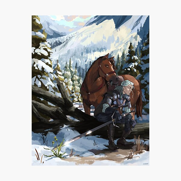 Signs of Spring; The Witcher Photographic Print