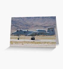 A-10A Thunderbolt II, WA AF 80-0184 Rolling Greeting Card
