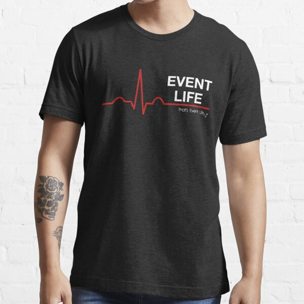 Event Medicine Life ECG Style (White/Red) Essential T-Shirt