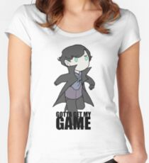 Gotta Get My GAME Women's Fitted Scoop T-Shirt
