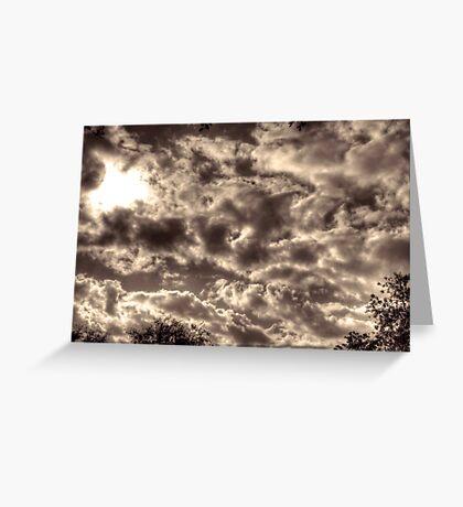 Alternate Clouds Greeting Card