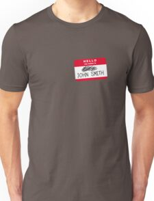 Hello my name is John Smith T-Shirt