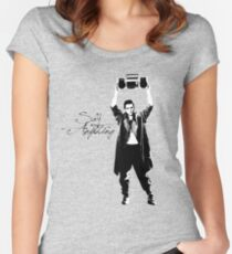 Say Anything - Dobler Women's Fitted Scoop T-Shirt