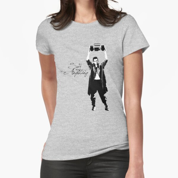 Say Anything - Dobler Fitted T-Shirt