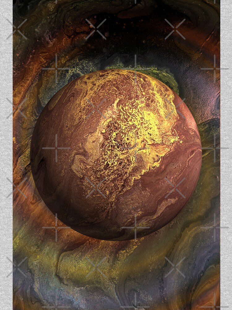 Desert Moon: outer space planet by kerravonsen