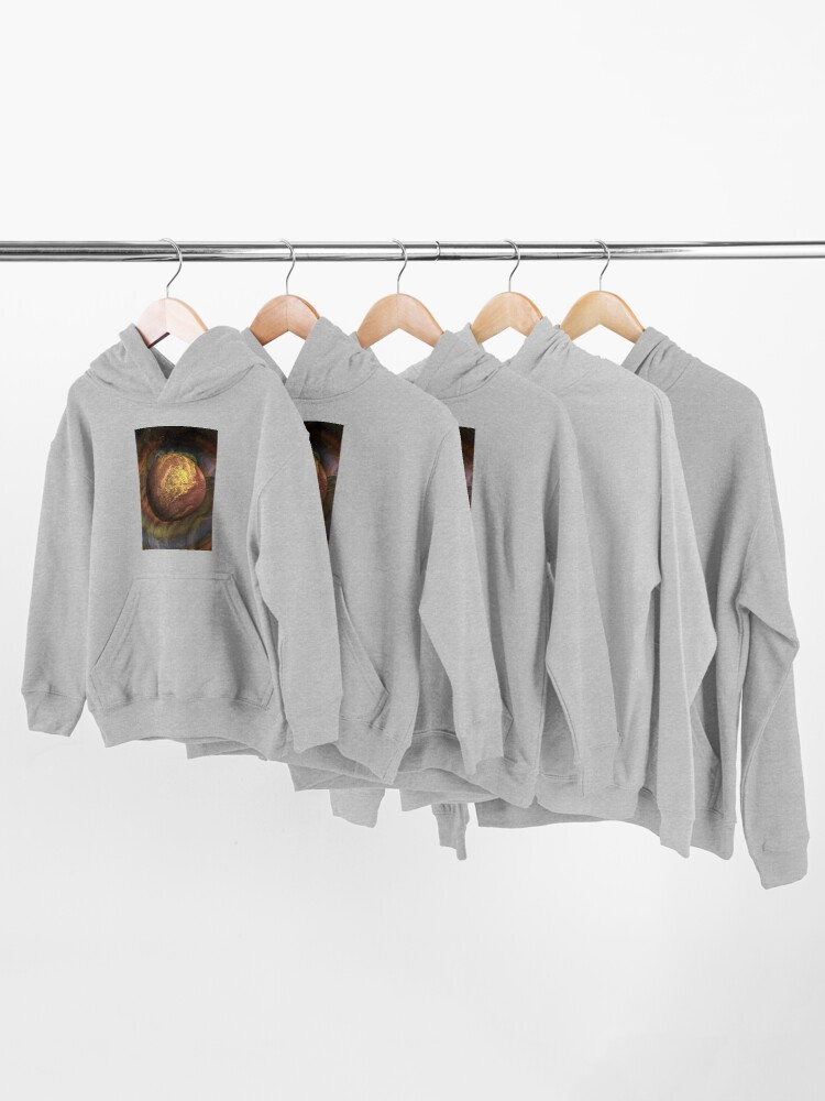 Alternate view of Desert Moon: outer space planet Kids Pullover Hoodie