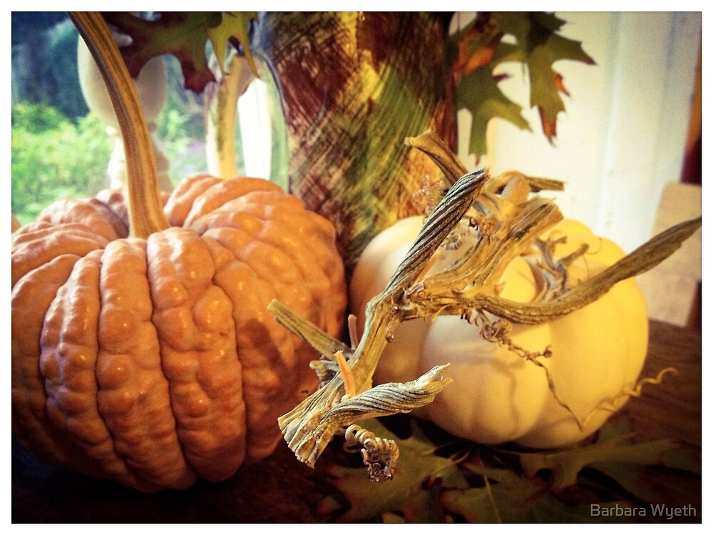 Autumn Tabletop by Barbara Wyeth