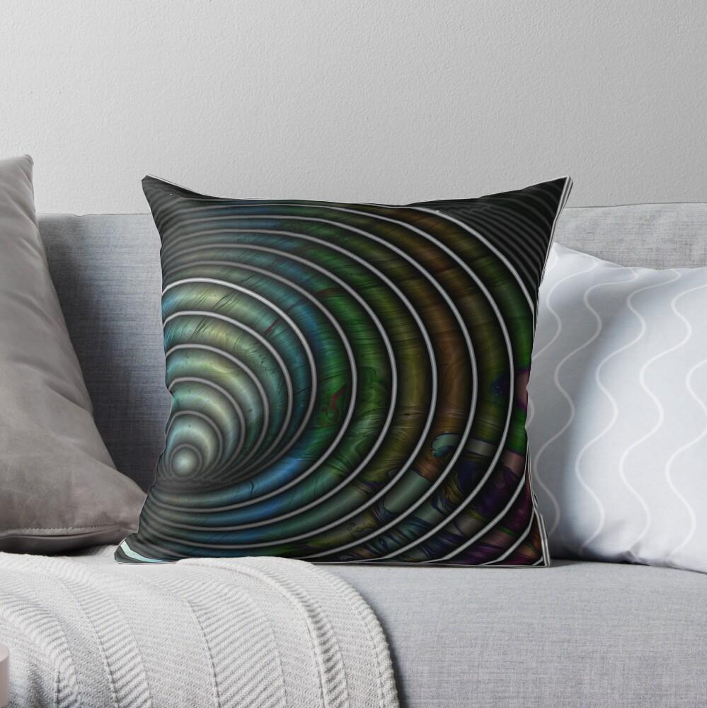 Chameleon's Eye II Throw Pillow