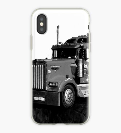 abstracted truck iPhone Case