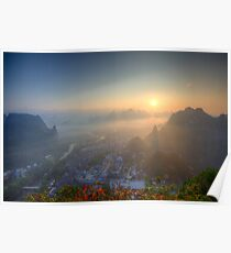 XingPing Sunrise Poster