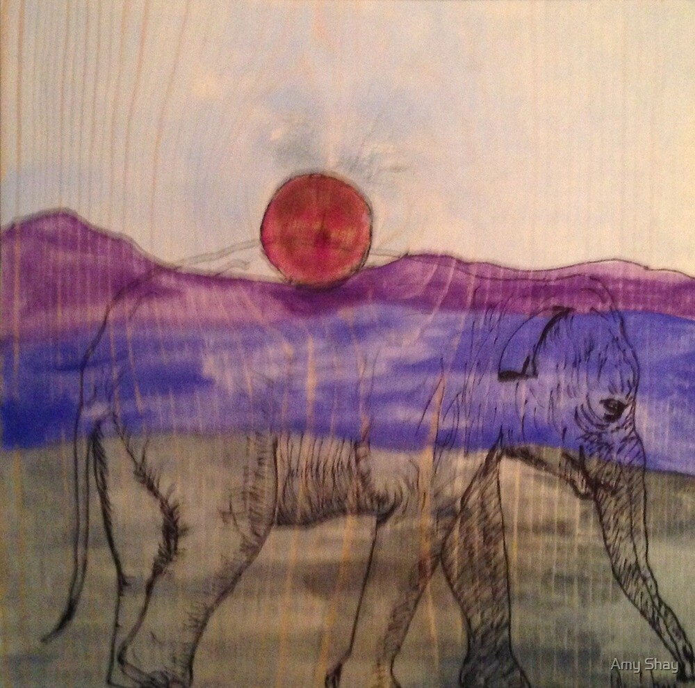 pink moon by Amy Shay