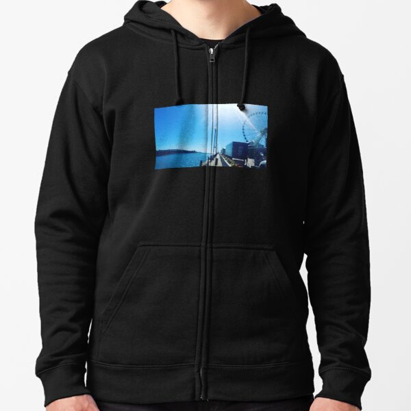 Navy Pier Chicago Zipped Hoodie