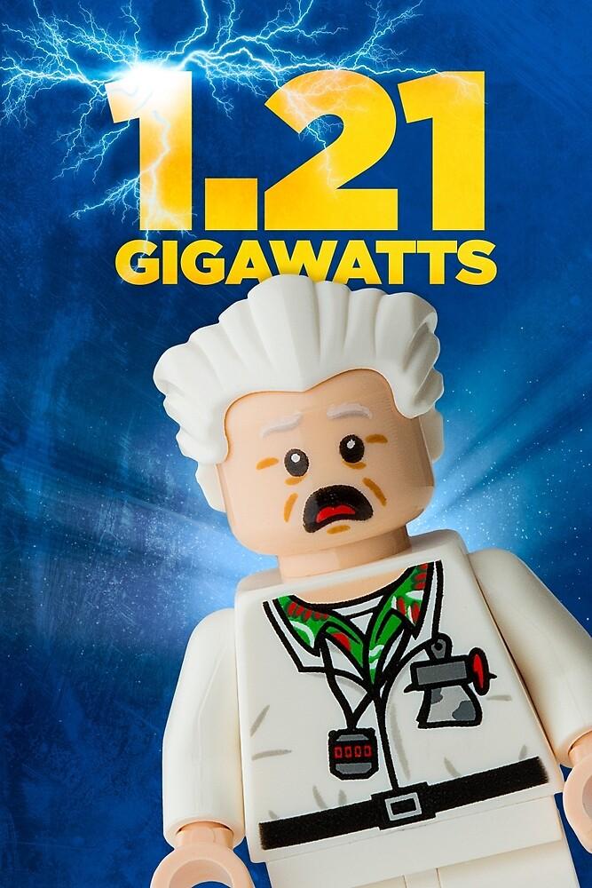 Lego Back To The Future by CBDigitalGoods