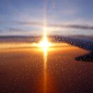 Sunset from the Air. by dgscotland