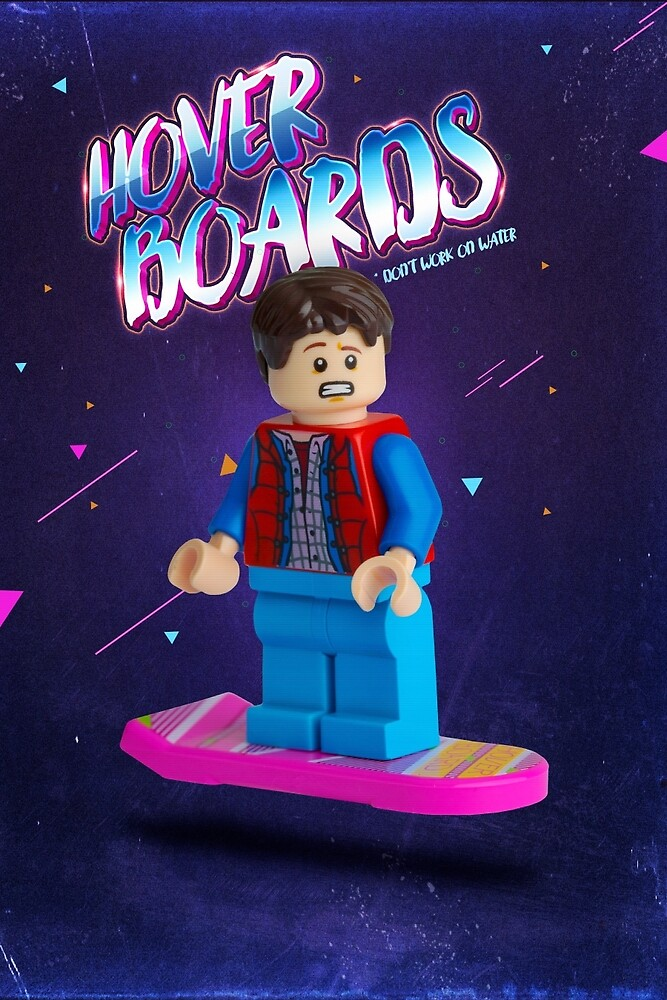 Back To The Future  Lego Marty Mcfly by CBDigitalGoods