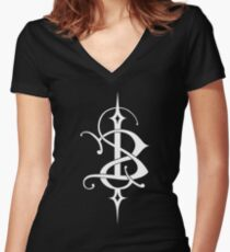 Skinny Puppy Women's Fitted V-Neck T-Shirt