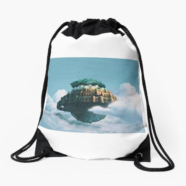Castle in the Sky Drawstring Bag