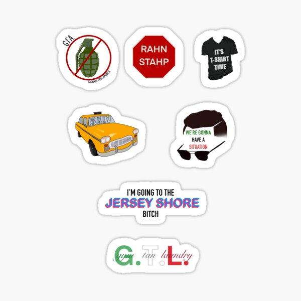Jersey Shore Sticker Pack Sticker