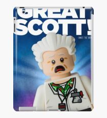 Lego Doc Brown Back To The Future iPad Case/Skin