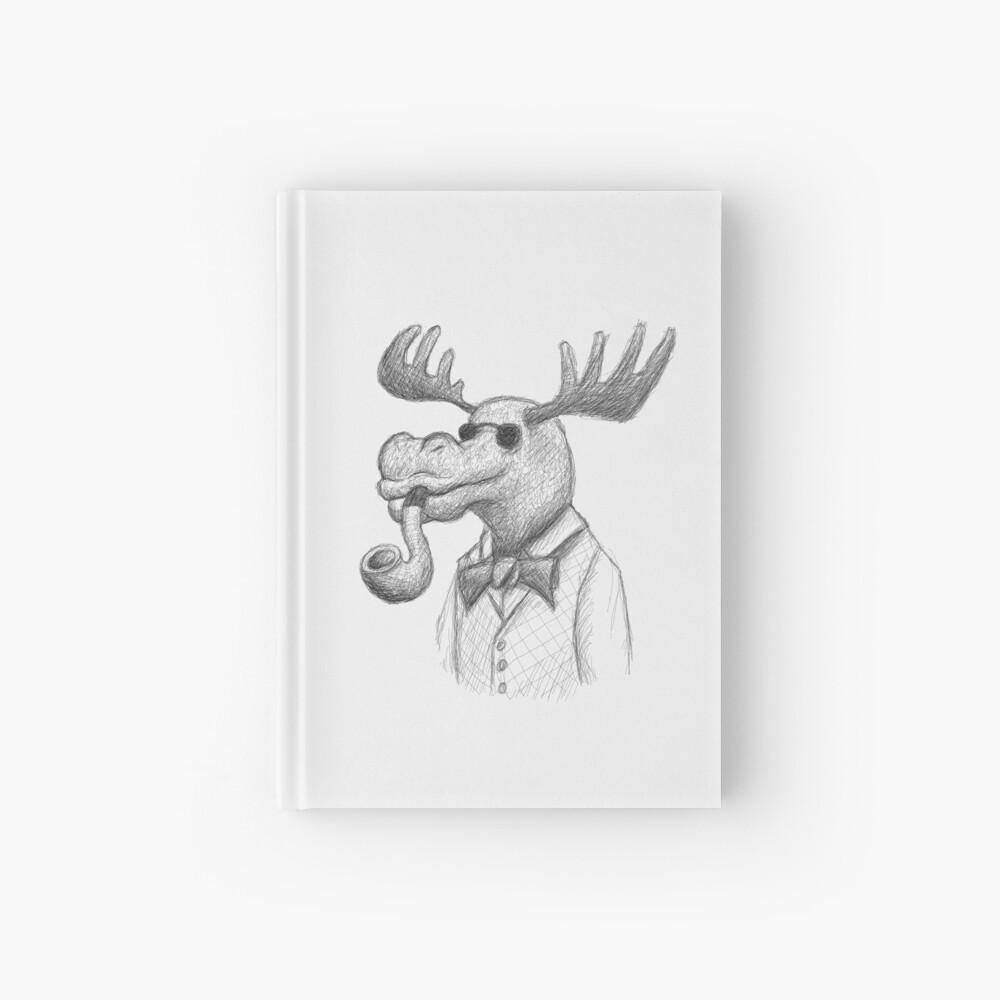 Blind Mr. Moose Hardcover Journal