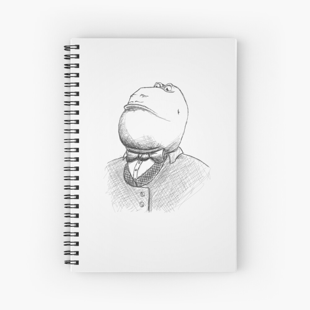 Monsieur LeFrog Spiral Notebook