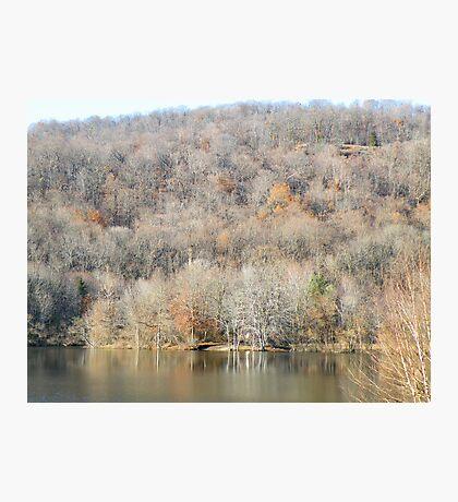 November In The Ramapo Mountains Photographic Print