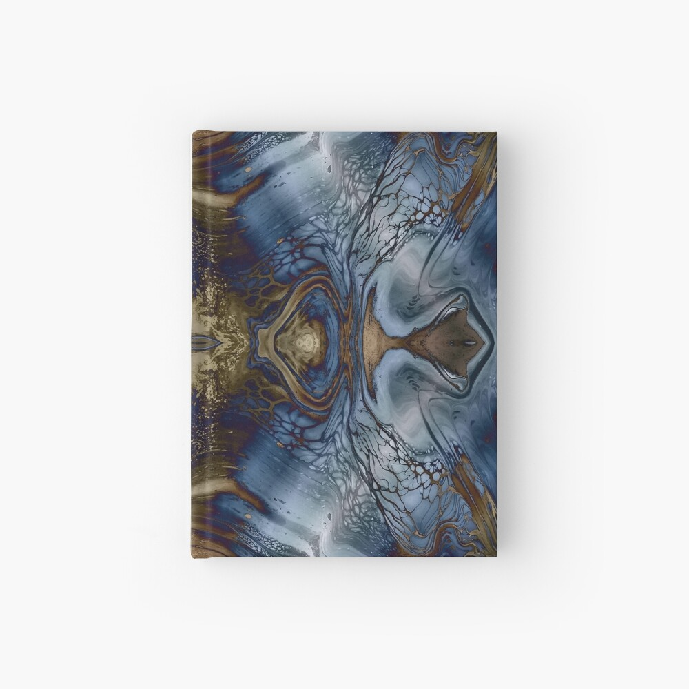 Wood and Water Hardcover Journal