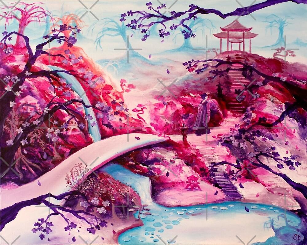 Japanese Garden I by zladyluthien