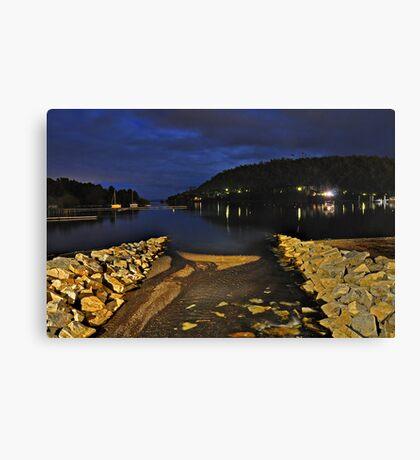 Pucon Lake Canvas Print