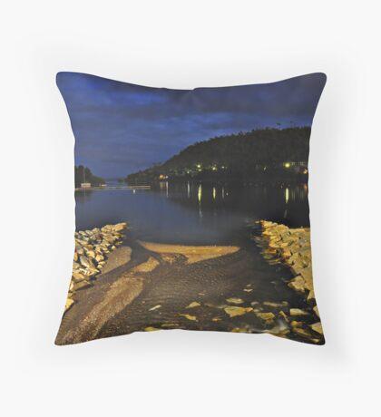 Pucon Lake Throw Pillow