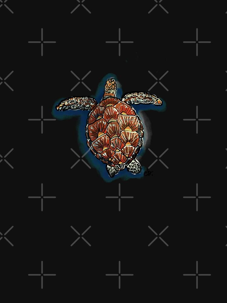 Sea turtle by ebozzastudio